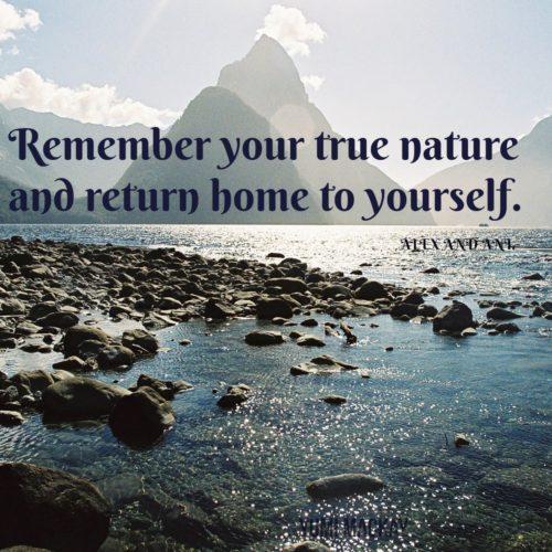 【今日のプチセルフコーチング】あなたの本質を思い出して自分という源に還ろう。